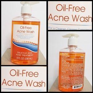 Oil-Free Acne Wash Gentle Effective treatment 8oz